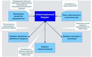 Инвестиционный бюджет организации