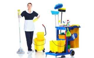 Расчет норм расхода моющих средств