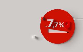 Потребительский кредит с минимальной ставкой