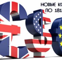 181 и коды валютных операций