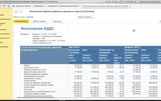 Анализ исполнения бюджета