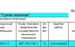 Заполнение личной карточки работника т 2